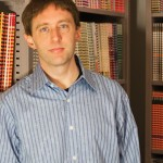 'Kingpin' author Kevin Poulsen at the office of Wired News, where he is a senior editor. Photograph by Franklin Avery