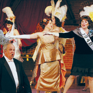 Showgirls Strut Down Memory Lane in Tabard's Version Of 'Follies'
