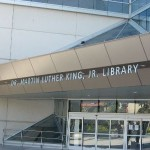 Downtown's Dr. Martin Luther King Jr. Main Library is one of the few libraries expected to be spared from budget cuts.