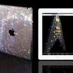 If one is looking for the ultimate gift, Harrod's in London is selling iPad2 devices that are encrusted in Swarovski crystal.