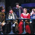 Gay Parisians  Daniel Cilli (from left), Silas Elash, Krassen Karagiozov, Jouvanca Jean-Baptiste and Christopher Bengochea star in in Opera San Jose's 'La bohe