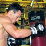 """Robert """"The Ghost"""" Guerrero will fight Michael Katsidis on Saturday in Las Vegas. A win would give Guerrero his fifth world title in three different weight classes. (Photo by Paul Hernandez)"""