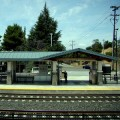 Lawrence Station in Sunnyvale is one of several Caltrain stations that will be permanently closed because of the railroad's budget deficit.