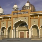 The San Jose Sikh Gurdwara, on Murillo Avenue in Evergreen Hills was completed at a total cost of $32 million. The complex includes a prayer hall, classrooms, apartments, and a vegetarian kitchen.