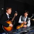 Tony Kishman (Paul McCartney) and Jim Owen (John Lennon) of Twist & Shout.