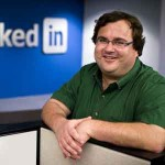 Reid Hoffman, founding CEO and now Chairman of Linkedin, is happy; but should he be happier?