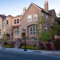 Parkside Villas Townhomes, designed by Barry Swenson Builders, are near Sunnyvale's downtown.