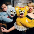 Robert Brewer and Monique Hafen star as the Bad Idea Bears in 'Avenue Q.' (video)