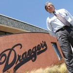 Richard Draeger of Draeger's Markets believes that a small, local retailer can thrive even in tough times.