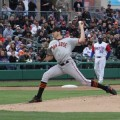 Barry Zito, pitching for the San Jose Giants on Monday in a rehab stint, has been one of several big names to recently suit for the local Single-A ballclub. (Photo courtesy of the Stockton Ports)