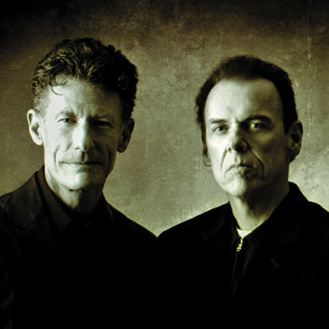 Lyle Lovett and John Hiatt at the Mountain Winery