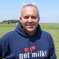 Mark McAfee at his Organic Pastures Dairy