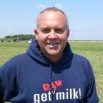 Mark McAfee at his Organic Pastures Dairy
