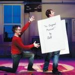Jeff (Ian Leonard) resorts to thinking of his partner, Hunter (Jamison Stern), as a tabula rasa in '[title of show].' (video)
