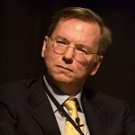 Eric Schmidt, the former CEO of Google.