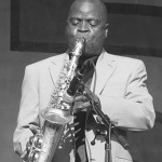Maceo Parker at the New Orleans Jazz and Heritage Festival.  He performs at Montalvo Arts Center on January 11.