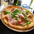 The piazza bianca at Napoletana evokes the true Italian pie.