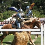 Full-contact jousting is the Tudor England equivalent of football.