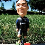 San Jose Earthquakes forward Chris Wondolowski will take center stage when 5,000 bobbleheads of him are given away at Saturday's game.