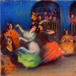 A flamenco juerga is an informal concert that encourages improvisation and audience participation.