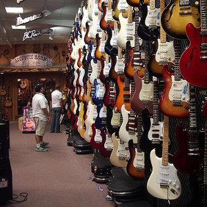 South Bay Guitar Shops