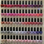An array of polishes line the wall at Nail Spa by Tammy in Willow Glen.