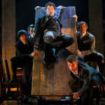 The boys sing about the hardships of living in San Jose Rep's production of 'Spring Awakening.' Photo by Kevin Berne.