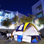 Members of Occupy San Jose have been camping on the City Hall plaza since Oct. 2 to protest economic inequalities in this country.