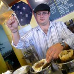 Nick Taptelis mixes one of the many specialty blends offered at Philz.