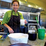 Maria Handayani learned to cook Indonesian food from her  grandmother.
