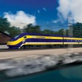 BAY TO LA California's high-speed rail will cost an estimated $98 billion and take 20 years to complete—and might skip Silicon Valley.