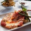 The veal chop parmesan at Fratello beckons.