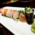 What do Steve Jobs and I have in common? We both enjoyed the sushi at Jin Sho.