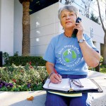 Linda Roma quit smoking cigarettes after lighting up for more than 30 years, and now she wants Morgan Hill to go cold turkey on public smoking. (Photo by Felipe Buitrago)