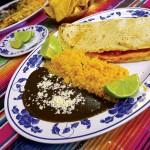 The empanada de amarillo con pollo at Monte Alban transports diners to Oaxaca.