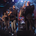 Tower of Power, performing with War on December 30 at the San Jose Civic Auditorium.