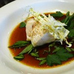 The oil-cured black cod is a winner at the Hay Market.