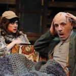 HOME INVASION  A visit by Shelly sets off the ravings of patriarch Dodge in San Jose Stage Company's production of 'Buried Child.' Dave Lepori