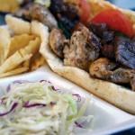 BLISS ON BREAD: Le Bon de Cuisine serves what it calls a 'Parisian chicken sandwich.'