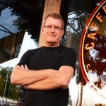 Caffe Frascati owner Roger Springall worked in the tech industry before opening the South First Street cafe.