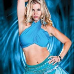 WHAT IT'S LIKE TO BE HER:  Molly Bell channels Britney Spears in a new revue at the Retro Dome.