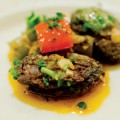 SANGUINARY STYLE:San Jose restaurant Picasso's serves Spanish blood sausage, a.k.a. morcilla.