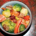 MENU MEME: Suddenly, everybody seems to be serving Brussels sprouts with bacon.