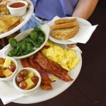 Breakfast--or dinner--is served at a diner near you.
