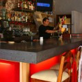 Mezcal's cool bar is part of its appeal.