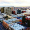 UP IN THE AIR: San Jose Mayor Chuck Reed is pushing for development sooner rather than later in the downtown core, but some business leaders feel it would be wise to wait for large-scale projects. Photograph by Chip Scheuer