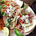 Fish tacos from Hot Tamales, opening Cinco de Mayo at Santana Row.