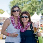 TOASTING TASTES: Two food fans enjoy a 'Sunset' weekend.