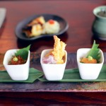 SMALL IS BEAUTIFUL: Nami Nami specializes in exquisitely presented tasting dishes in petite sizes.
