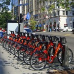 Above is an example of the bike share program in Washington D.C., which will be implemented in San Jose this fall.